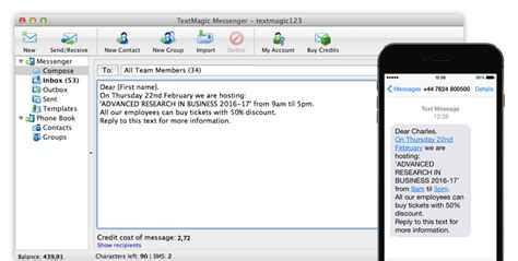 ourtime phone number sms software send texts from pc and mac