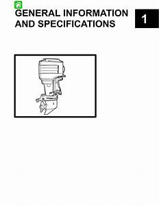 Mercury Mariner Outboard 115 Hp Service Repair Manual By