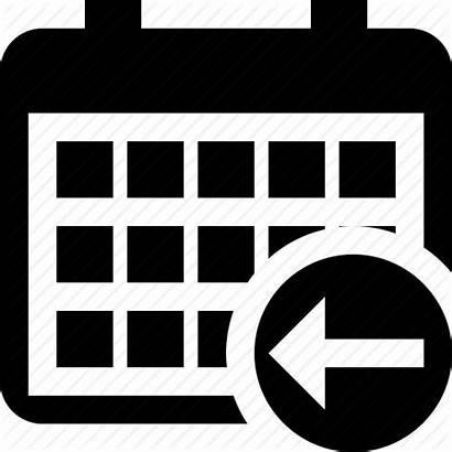 Calendar Previous Icon Month Date Schedule Edit