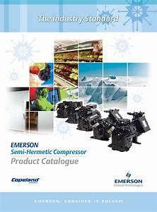 4 Copeland Semi-hermetic Compressor