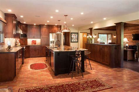 terracotta floor tile kitchen terracotta tile kitchen true builders 6031