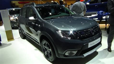 2018 Dacia Sandero Stepway Celebration Tce 90 Exterior And Interior Iaa Frankfurt 2017