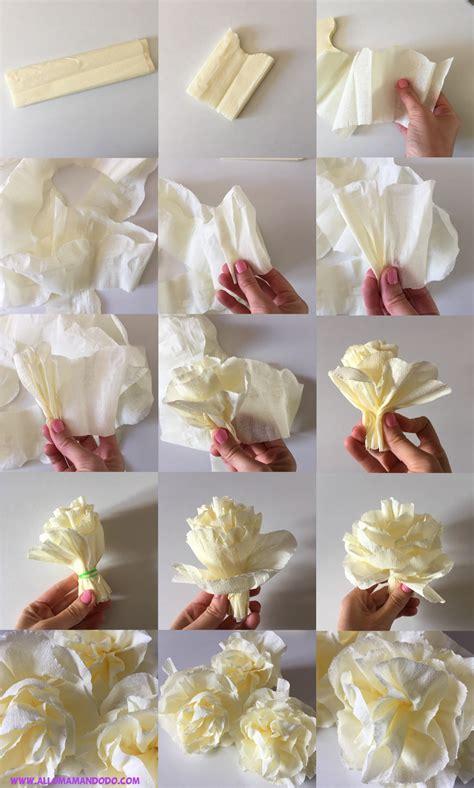 diy fleurs en papier cr 233 pon tuto photos facile allo maman dodo