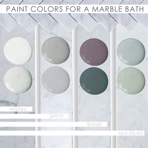 best paint color for carrara marble colors for your marble bathroom home decorating painting advice
