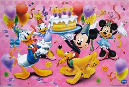 Mickey Mouse Minnie Birthday Disney Donald Duck