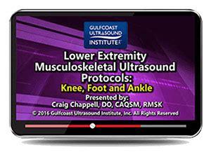 Gulfcoast Lower Extremity Musculoskeletal Ultrasound ...