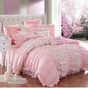 Girl Princess Comforters Bedding Sets Elegant Vintage Floral Bedroom Purple Daisies Floral Baby Girl Crib Bedding 9pc Nursery Set Girls Pink Teal Nature Flowers Twin Full Queen Size Comforter Bed Set 3D Bedding Quilt Doona Duvet Cover BED Sheet Pillowcase SET Beach