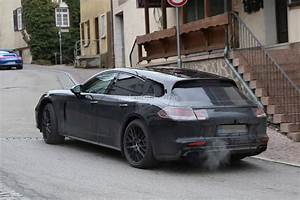 Porsche Panamera Break : porsche panamera shooting brake first spy photos show sexy performance wagon autoevolution ~ Gottalentnigeria.com Avis de Voitures