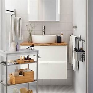 Catalogue Salle De Bains Ikea : petites salles de bains ikea 6 inspirations qui ont tout bon marie claire ~ Dode.kayakingforconservation.com Idées de Décoration