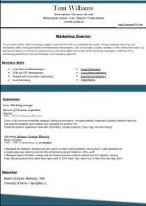 Top Resume Samples Resume Formats 2016 Marketing Director