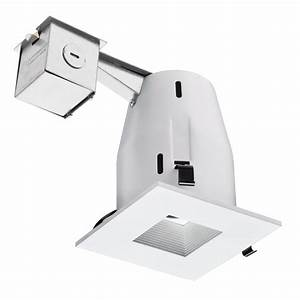 Lithonia lighting lk sqmw square baffle remodel recessed