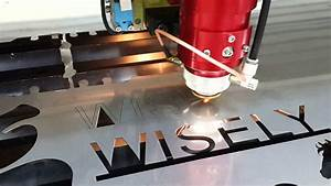stainless steel laser cutting machine with 150w co2 laser With stainless steel letters cutting machine
