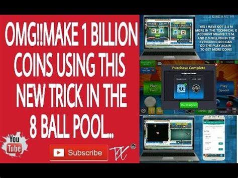 omg coins trick instant reward apk trick get 1 billion coins in 8 pool technical x