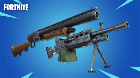 fortnite unvaults  weapons  kick   days