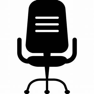 Office chair silhouette Icons | Free Download