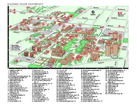 Campus Map University Illinois