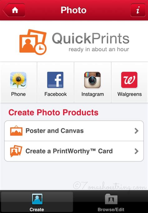 how to print pictures from phone at walgreens print photos from your phone with walgreens mobile app