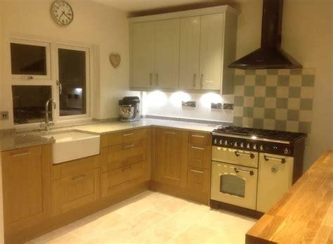kitchen cabinets size wren living barker shaker kitchen in light oak and 3239