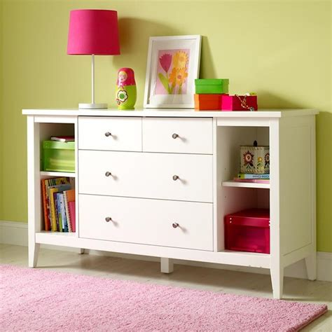 children s dresser changing table blake dresser white contemporary kids dressers and
