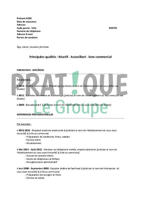 Cv Modèle étudiant by Resume Format Modele Curriculum Vitae Pour Etudiant