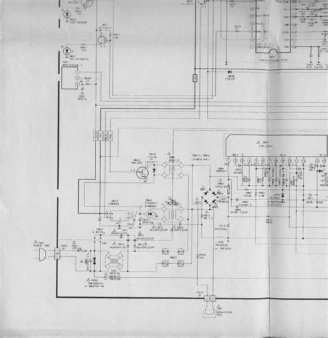 solucionado tv toshiba modelo cs20e26 chasis tac 9500