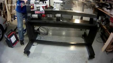 building  ultimate lathe stand youtube