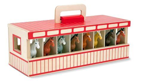 and doug barn doug fold go take along wooden show stable