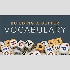 Vocabulary Course  How To Build A Better Vocabulary  The Great Courses Plus