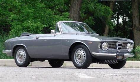 Sophisticated Colors 1965 Alfa Romeo Giulia Gtc  Bring A