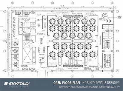 Operable Skyfold Walls Layouts Many Flexibility Touch