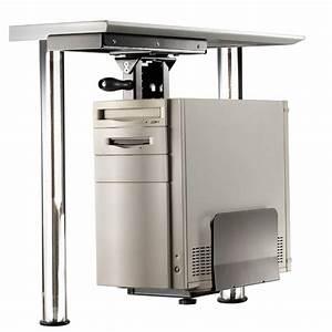 Pc Halterung Ikea : porta pc fissaggio sottoscrivania con rotazione silver ~ Eleganceandgraceweddings.com Haus und Dekorationen