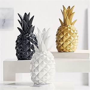 Deko Tablett Schwarz : deko objekt ananas schwarz jetzt bei bestellen ~ Whattoseeinmadrid.com Haus und Dekorationen
