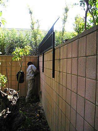 village fencing project underway orange county register