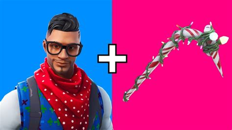 skin combos  candy axe fortnite christmas