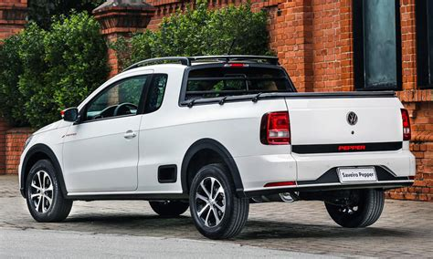 Volkswagen Unveils Sportily Styled Saveiro Pepper Car