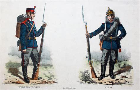 Deutschfranzösischer Krieg 1871 Württemberg Hessen