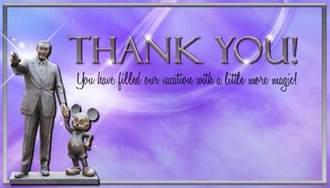 Walt Disney Thank You Quotes