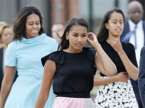 Sasha Obama Did Not Attend Father's Final Speech As Us
