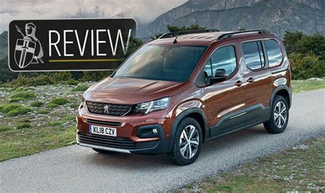 peugeot rifter dimensions peugeot rifter 2018 review road test price specs and impressions express co uk