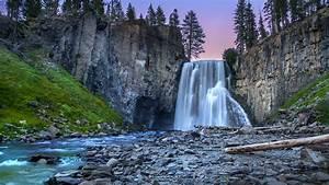 1920x1080, Cliffs, Waterfall, Rocks, Trees, Laptop, Full, Hd, 1080p, Hd, 4k, Wallpapers, Images
