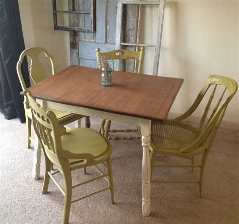 Small Kitchen Sets Furniture by Vintage Small Kitchen Table Like The Painted Legs