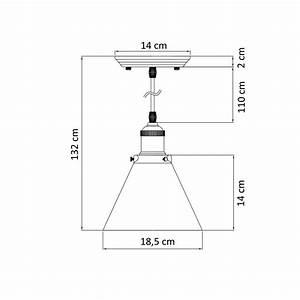 Suspension Luminaire En Verre Transparent : suspension conique verre transparent et bronze dallas ~ Teatrodelosmanantiales.com Idées de Décoration