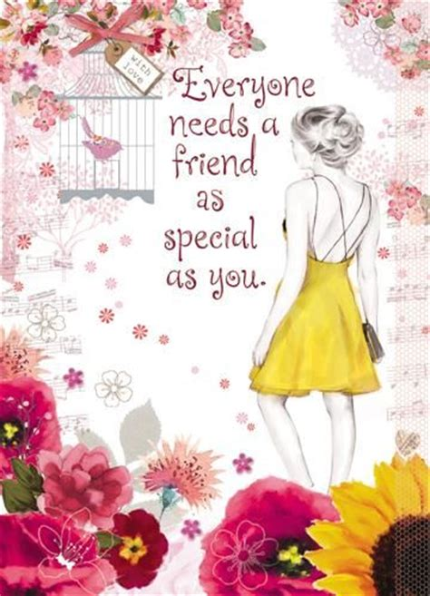 special friend birthday card karenza paperie