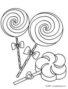 Coloring Lollipop Page Candy