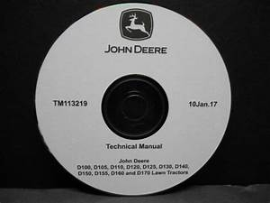 John Deere D140 D150 D155 D160 D170 Technical Manual