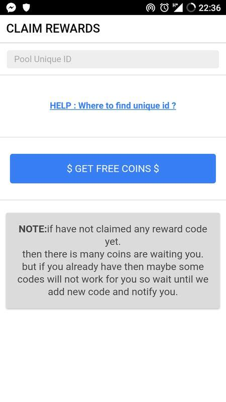 free coins pool instant rewards for android apk