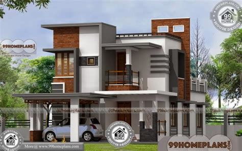 modern homes floor plans indian house front elevation designs two duplex