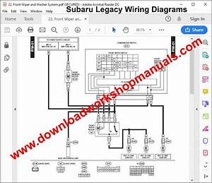 Subaru Legacy Workshop Repair Manual
