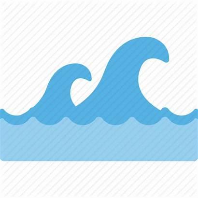 Ocean Splash Water Waves Transparent Sea Icon
