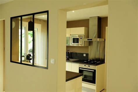 verriere separation cuisine cuisine avec verrière d 39 intérieure verrière d 39 intérieure